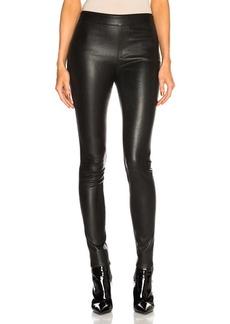 Helmut Lang Leather Legging