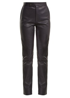 Helmut Lang Leather suit trousers
