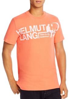 Helmut Lang Logo Graphic Tee