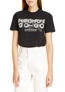 Helmut Lang Logo Hack Graphic Tee