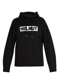 Helmut Lang Logo-print hooded sweatshirt