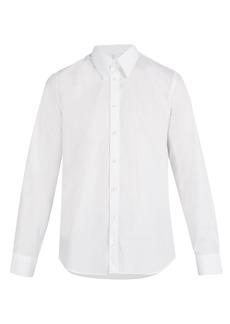 Helmut Lang Logo-printed cotton shirt