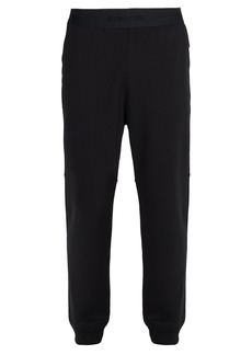Helmut Lang Logo-waistband cotton-jersey track pants