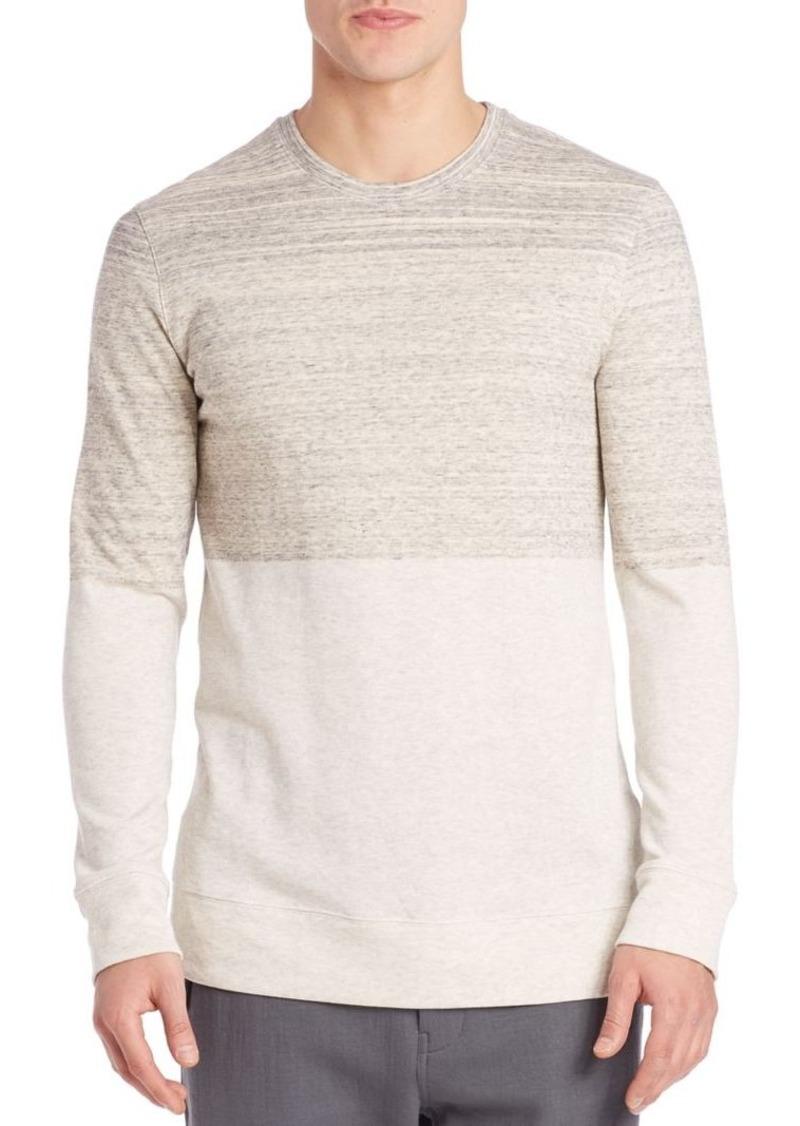 Helmut Lang Long Sleeve Gradient Sweatshirt