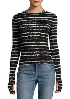 Helmut Lang Long Sleeve Top