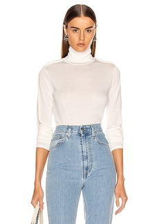 Helmut Lang Long Sleeve Twist Turtleneck Top