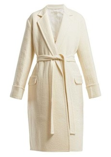 Helmut Lang Longline virgin-wool coat