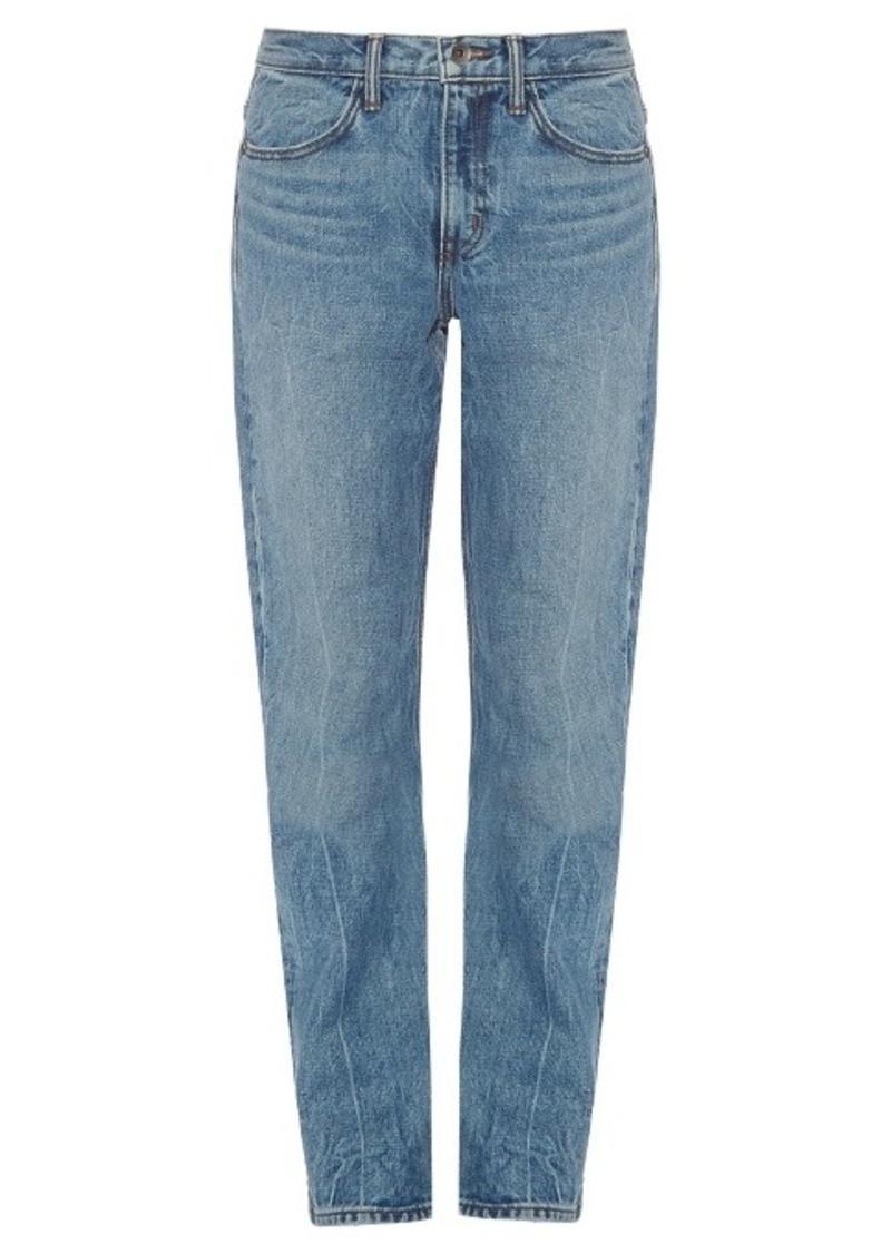 Helmut Lang Low-slung boyfriend jeans