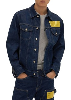 Helmut Lang Masc Big Trucker Denim Jacket