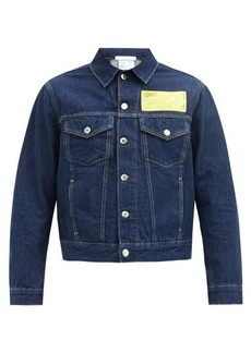 Helmut Lang Masc Big Trucker denim jacket