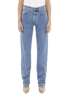Helmut Lang Masc High Waist Straight Leg Jeans