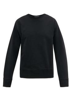 Helmut Lang Masc logo-embroidered cotton sweatshirt
