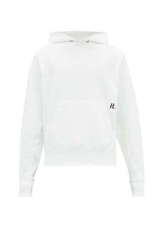 Helmut Lang Masc logo-print cotton hooded sweatshirt