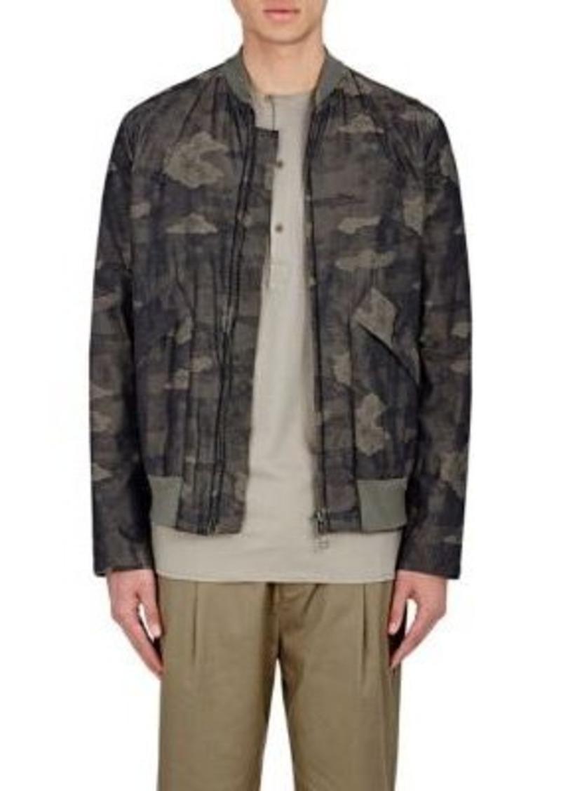 Helmut Lang Men's Camouflage Bomber Jacket