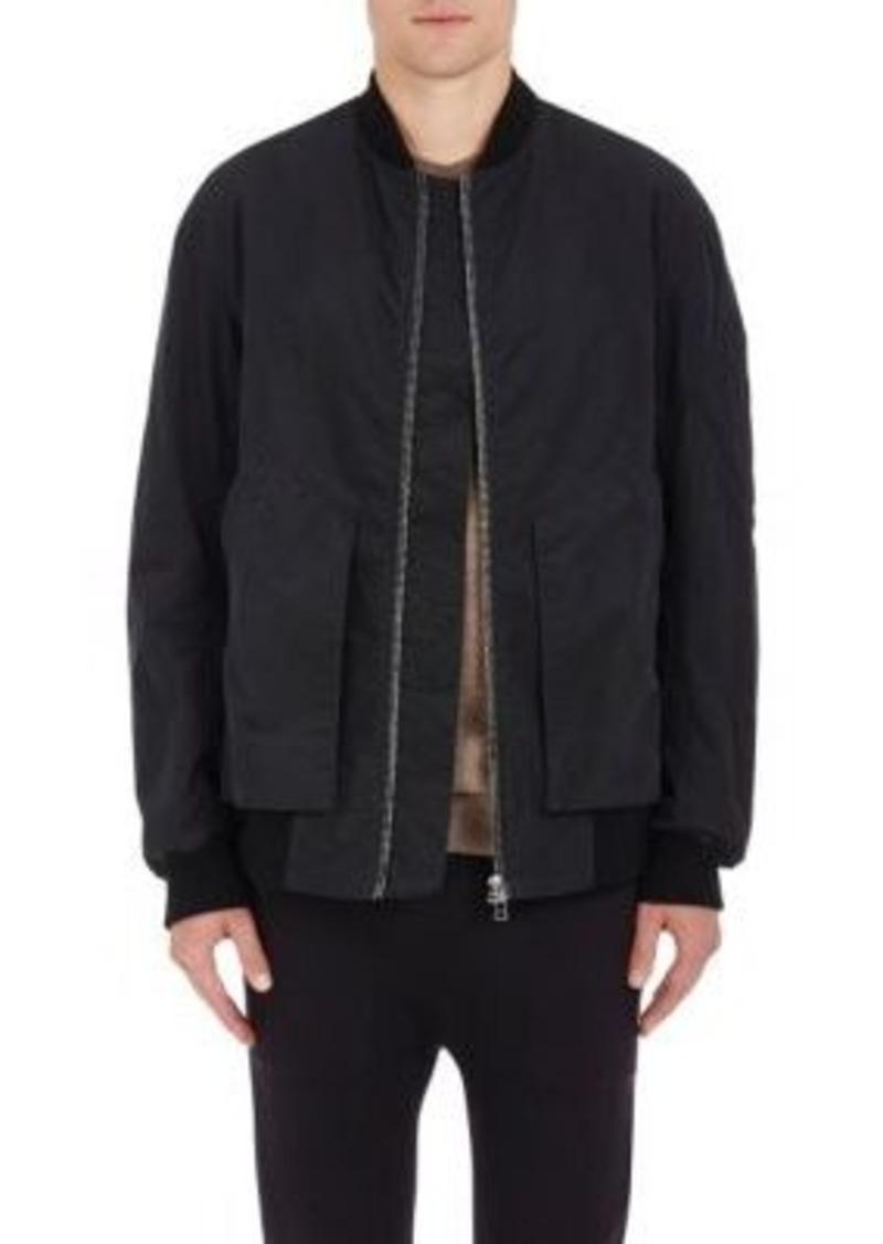 Helmut Lang Men's Cotton Insulated Oversized Bomber Jacket