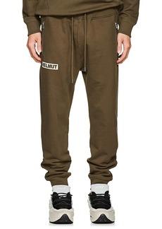 Helmut Lang Men's Logo Cotton Jogger Pants