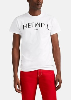 Helmut Lang Men's Logo-Print Cotton T-Shirt