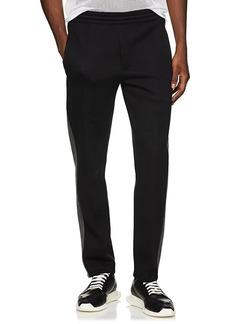 Helmut Lang Men's Neoprene Jersey Track Pants