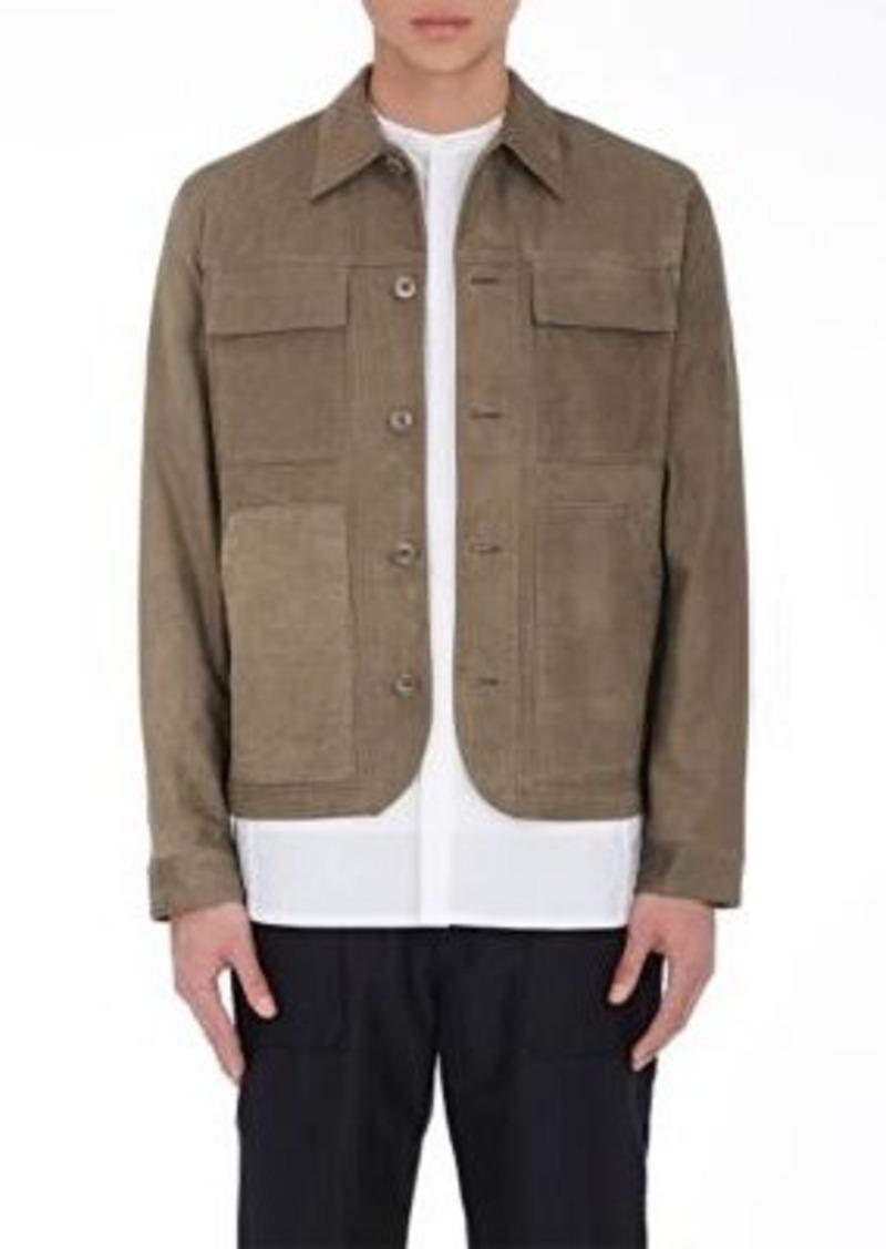 Helmut Lang Men's Nubuck Field Jacket