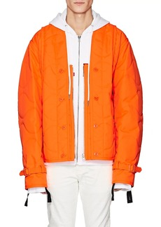 Helmut Lang Men's Quilted Collarless Jacket