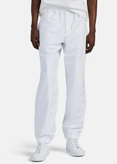 Helmut Lang Men's Recycled Tech-Satin Track Pants
