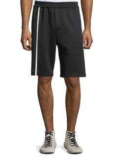 Helmut Lang Men's Striped Track Shorts
