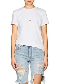 """Helmut Lang Men's """"Taxi"""" Cotton T-Shirt"""