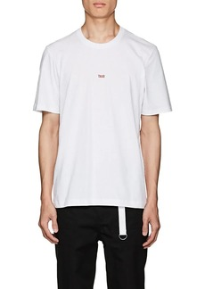 "Helmut Lang Men's ""Taxi"" Cotton T-Shirt"