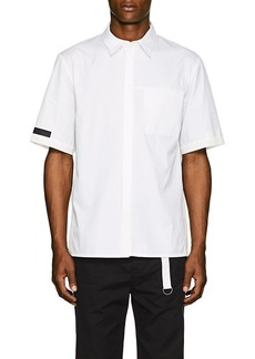 Helmut Lang Men's Tech-Inset Cotton Poplin Shirt