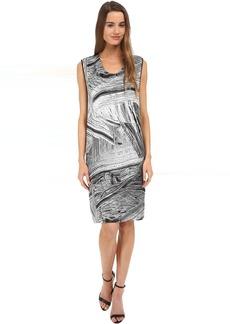HELMUT LANG Method Print Silk Dress