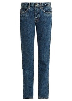 Helmut Lang Mid-rise straight-leg boyfriend jeans
