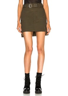 Helmut Lang Military Patch Skirt