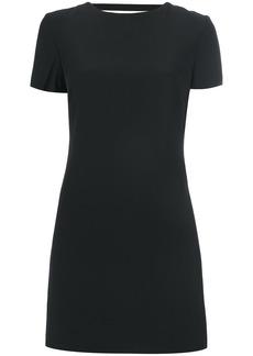 Helmut Lang mini dress with rear cutout - Black
