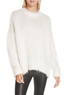 Helmut Lang Mohair Blend Sweater