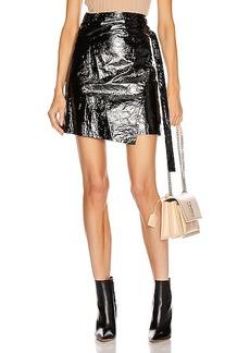 Helmut Lang Mylar Wrap Skirt