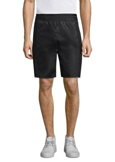 Helmut Lang Nylon Snap Shorts
