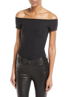 Helmut Lang Off-the-Shoulder Bodysuit