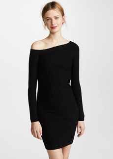 Helmut Lang One Shoulder Dress
