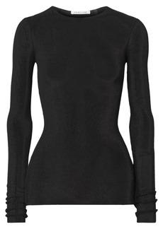 Helmut Lang Open-knit cotton top