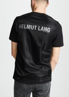 Helmut Lang Overlay Logo Short Sleeve Tee