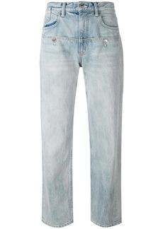 Helmut Lang oversized boyfriend jeans - Blue