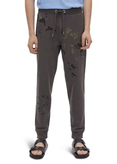 Helmut Lang Paint Splatter Sweatpants