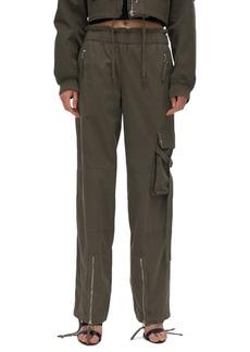 Helmut Lang Paperbag Waist Cargo Pants