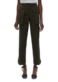 Helmut Lang Patch Pocket Crop Pants