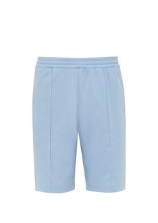 Helmut Lang Pintucked jersey shorts