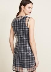 Helmut Lang Plaid Shell Dress