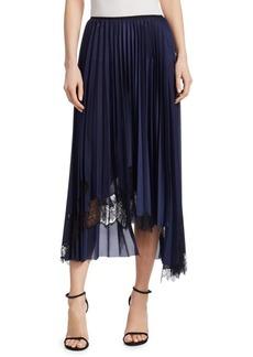 Helmut Lang Pleated Midi Skirt