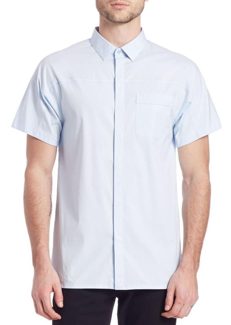 Helmut Lang Pocket Tab Short Sleeve Shirt