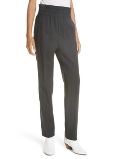Helmut Lang Pull-On Stretch Wool Pants