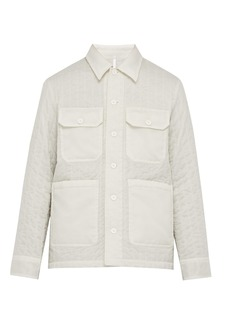 Helmut Lang Quilted technical jacket